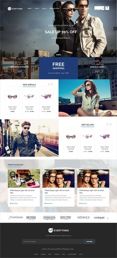 Everything is a wonderful responsive WooCommerce #WordPress theme for #glasses #spectacles stunning eCommerce website with 25+ multipurpose homepage layouts download now➩ https://themeforest.net/item/everything-woocommerce-responsive-wordpress-theme/19509788?ref=Datasata