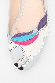 unicorn shoes!