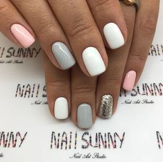 Semi-permanent varnish, false nails, patches: which manicure to choose? - My Nails Dream Nails, Love Nails, Pink Nails, My Nails, Pretty Gel Nails, Shellac Nails, Gel Nail Polish, Shellac Nail Designs, Nails Design