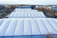 Vier Induro Hallen dienen WILO als zusätzliche Produktions- und Forschungshallen.