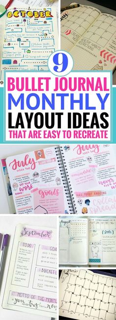 9 bullet journal monthly spread ideas worth coping planner 9 bullet journal monthly spread ideas worth coping solutioingenieria Choice Image