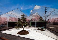 Mirrored Cafe in Gifu | Hisanori Ban Architect
