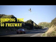 JUMPING THE FREEWAY IN TRAFFIC !! - YouTube