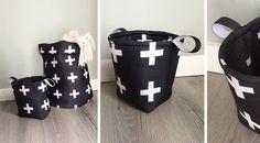 Linda gebruikte scuba stof Sebas om deze mooie woonmand te maken. Zelf maken? > https://www.kwantum.nl/creatief-met-stoffen/ #DIY #stof #creatiefmetstof #zelfmaken #kwantum