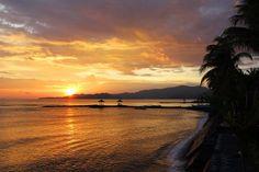 Sunset in Candi Dasa