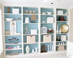 A Fabulous Wall of Bookcasesgoodhousemag