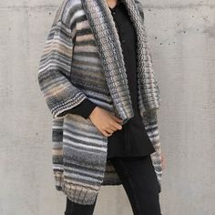 Azteca Milrayas Cardigan Knit Kit - Yarnplaza.com