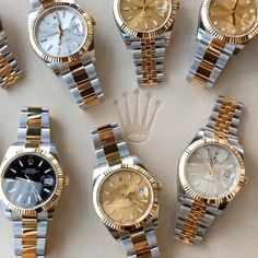 Rolex Watches - Rolex Watches - DATEJUST 41 What dial you prefer ? Rolex Watches For Men, Seiko Watches, Luxury Watches For Men, Amazing Watches, Beautiful Watches, Cool Watches, Cartier Panthere, Gold Rolex, Hand Watch