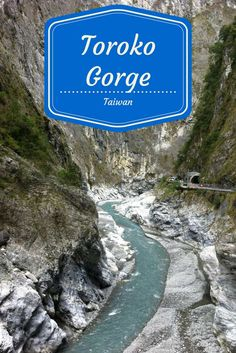 The most stunning sight in Taiwan and one of the most beautiful we've seen worldwide - Toroko Gorge