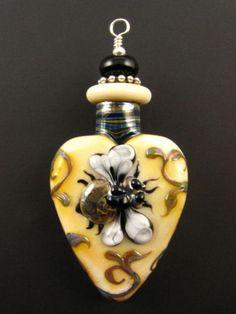 Kerri Fuhr - Honeybee Lampwork Aromatherapy Vessel