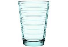 Iittala Aino Aalto juomalasi 33 cl 2kpl, vedenvihreä 2-4 kpl laseja