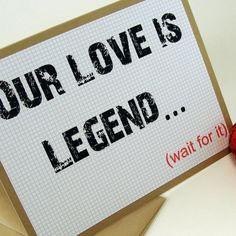Valentine's day Legendary card!