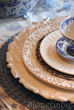 eclectic & french dinnerware sets | Pfaltzgraff French Quarter Dinnerware Set ...