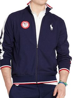 Team USA Track Jacket - Personalization Sweatshirts - RalphLauren.com