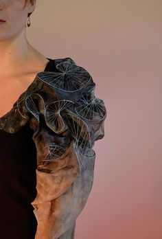 emilysladentextiles | 3 Dimensional Embroidery