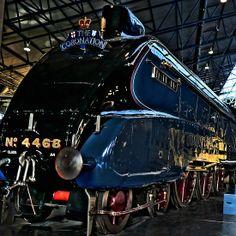The Mallard framed print. The fastest steam train in the world