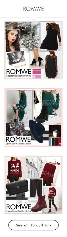 """ROMWE"" by damira-dlxv ❤ liked on Polyvore featuring vintage"