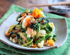 No Cook Appetizers, Appetizer Salads, Cafe Food, Food Menu, Diet Recipes, Cooking Recipes, Healthy Recipes, Japanese Dishes, Japanese Food