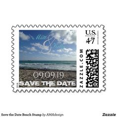 Save the Date Beach Stamp Self Inking Stamps, Save The Date Cards, Destination Wedding, Dating, Beach, Quotes, The Beach, Save The Date Maps, Relationships