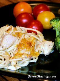 Menu Musings of a Modern American Mom: Chicken Tetrazzini