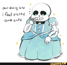 You are cute sans