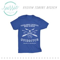 Intramural Team Shirt // College Intramural Sports Team Shirt Design //  Flag Football // Softball // Ladies Intramural Team // Women's Intramural Team // Intramural Design // Intramural Shirts // Muggle Quidditch // Harry Potter Intramurals