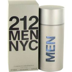 212 by Carolina Herrera Eau De Toilette Spray oz Men. Launched by the design house of carolina herrera in 1997 212 is classified as a refreshing flowery fragrance. This masculine scent possesses a blend of florals. It is recommended for office wear. Perfume 212, First Perfume, Perfume And Cologne, Perfume Deals, Perfume Fragrance, Carolina Herrera Men, Perfume Carolina Herrera, Nyc, Deodorant