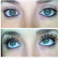 If you don't have 3d fiber mascara yet, you're missing out! This is with one coat!! Buy online at www.youniqueproducts.com/heathernicole