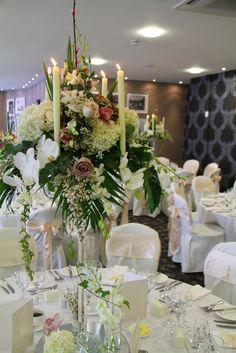 Flower Design Events: Crystal Candelabra: