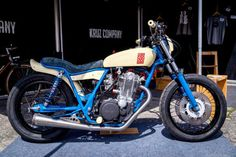 Fly Low II - Yamaha Brat Style #motorcycles #bratstyle #motos | caferacerpasion.com