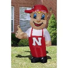 Inflatable Images Nebraska Cornhuskers