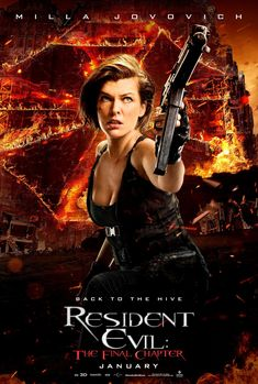 Resident Evil: The Final Chapter - Milla Jovovich as Alice