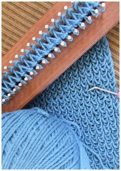 FitzBirch Crafts: Loom Knitting patterns. My dad made one of these. Lot's of fun making scarves
