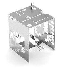 DIY 3D Puzzle Metal Postcard Mikroworld Mikro Stainless Steel - Garden