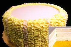 Peanut and Tree Nut Free Bakery in Seattle Little Rae's  Vanilla Cake with Vanilla Buttercream