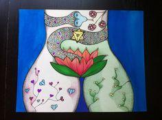 """Wild womanhood""  Copyright Sophie Stok 2015"