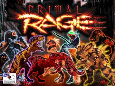 PRIMAL RAGE Wallpaper by Cepillo16.deviantart.com on @deviantART