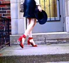 Jeffrey Campbell's amazing lucite heels