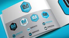 Re-brand design for LM SERVICES