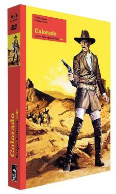 Colorado - DVD + Blu-ray + Blu-ray Book Collector's Edition Blu-ray + DVD + Book: Amazon.fr: Lee Van Cleef, Tomas Milian, Luisa Rivelli, Fernando Sancho, Nieves Navarro, Roberto Camardiel, Sergio Sollima: DVD & Blu-ray