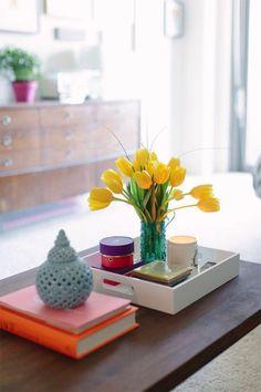 ideas para decorar mesas de centro 20