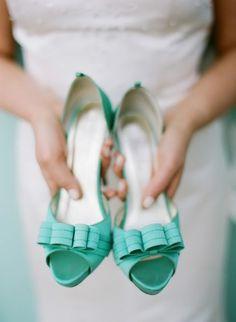 #Aqua bow #shoes