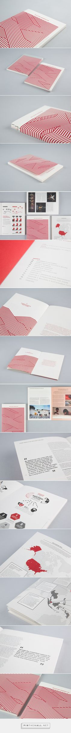 National Arts Council — Annual Report 2014 on Behance - created via http://pinthemall.net