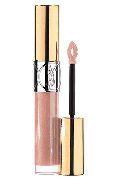 Yves Saint Laurent 'Gloss Volupte' Lip Gloss in Nude Carat | Nordstrom