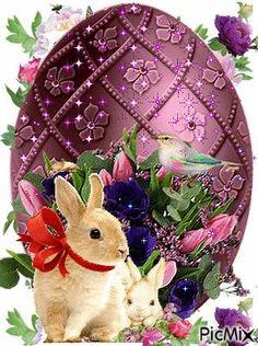 Zdrowych Wesołych Świąt Wielkanocnych Easter wishes Happy Easter Gif, Happy Easter Wallpaper, Easter Art, Easter Crafts, Easter Bunny, Easter Messages, Easter Wishes, Ostern Wallpaper, Easter Quotes