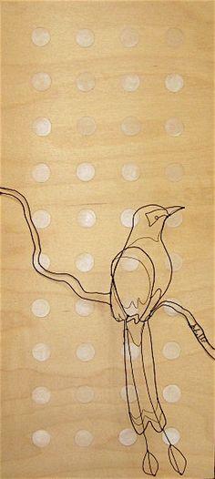 Shelli Markee wire birds