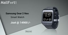 With Samsung Gear 2 Neo ‪#‎SmartWatch‬, a quick glance at your wrist is all it takes to know if you're getting the call that you've been eagerly anticipating...
