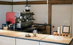 Omotesando Koffee: Coffee dispensaries don't get more unusual than this one, where espressos are whipped up within a cube frame deposited inside a 60-year-old wooden house.