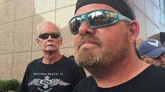 Bikers for Trump message to Flag Haters
