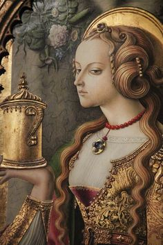 Mary Magdalene, ca.1480, Carlo Crivelli  Rijksmuseum